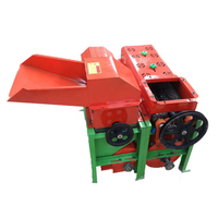 easy moved combined corn peeling and threshing machine