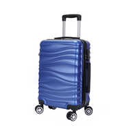 China manufacturer custom Abs Suitcase sets trolley travel bag luggage