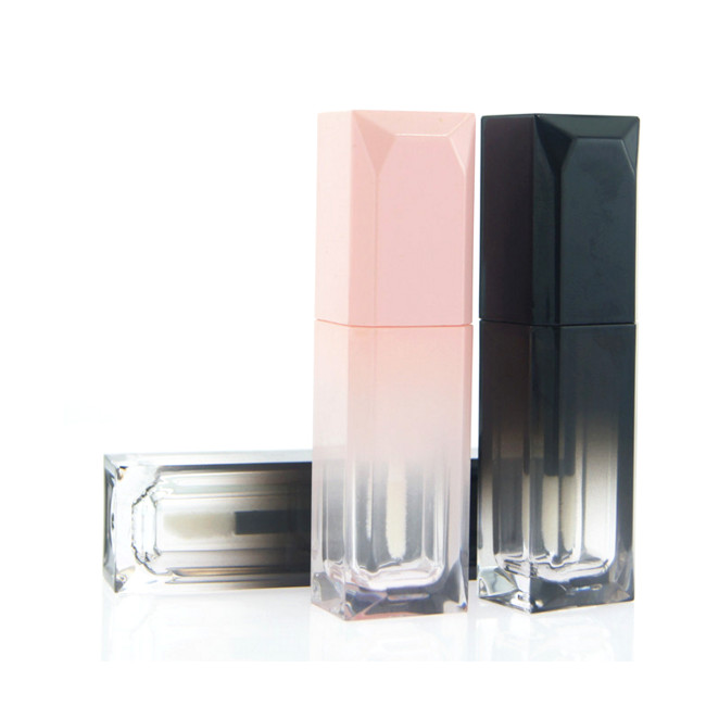 High Grade Transparent DIY Lip Gloss Packing Box Container Empty Lipgloss Tube