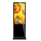 32inch floor stand kiosk standalone system FHD remote control digital signage screen advertising display equipment monitor