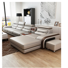On Sales Fancy New Model corner Seater Genuine Leather Sofa Living Room Furniture