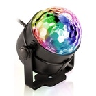 Club de fête Décoration USB Alimenté Par Batterie led Flash Laser Mini Boule Disco lumières