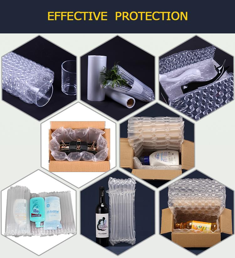 40cm*20um*300 meter small air bag cushioning material film roll air bubble film roll