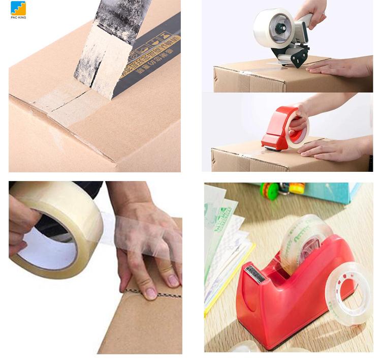 High Adhesion Custom Logo Printed Bopp Packing Tape / BOpp Packaging Tape