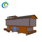 Light steel/Metal carved board /Prefabricated container house/Mobile shop kiosk/real estate
