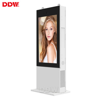 Good products 55 inch outdoor advertising digital display screens 2500 nits brightness outdoor lcd advertising display