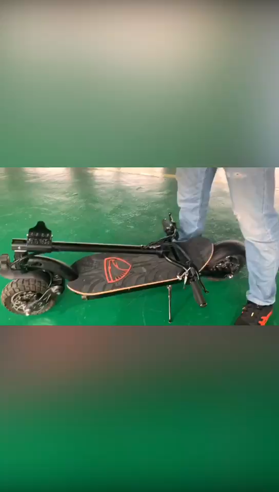 2000watt dual motor super endurance e-scooter front and rear suspension electric scooters