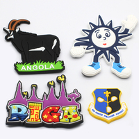 Promotional Souvenir Country Blank Rubber Customized 3D Magnet Fridge Custom PVC Fridge Magnet Custom