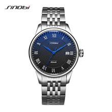 SINOBI высококачественные автоматические часы для мужчин s механические часы Японский Miyota Move Мужские t мужские Rolexable часы Роскошные наручные ч...(Китай)