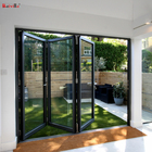 Door Patio 3 Panel Sliding Patio Door Price Thermal Break Aluminum Foldable Door Prices Wholesale Soundproof Tempered Glass 3 Panel Sliding Patio Door Price