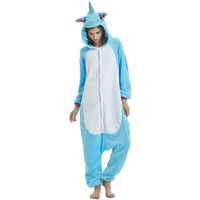 hot selling cosplay christmas unicorn women sleepwear pajamas