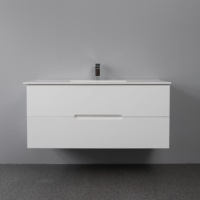 Modern design high quality wall mounted cabinet vanity