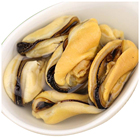Cooked Top Quality Shellfish Products Frozen Cooked Boiled Mussel Meat