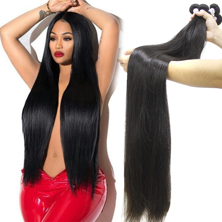 Wholesale Hair Vendor 100% Cuticle Aligned Virgin Raw Indian Hair Human Long Mink Straight Curly Wave Weft Bundles Extensions