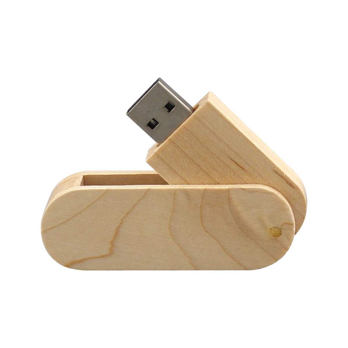 8GB, 16GB, 32GB, 64GB, 128GB Wood Swivel USB Stick USB3.0, USB2.0