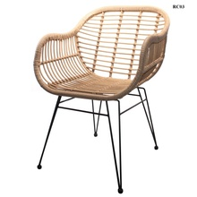 Stahl draht Vintage Städtischen Wicker <span class=keywords><strong>Rattan</strong></span> <span class=keywords><strong>Stuhl</strong></span>