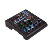Latest Model Master Audio Interface For Studio Small Mixer