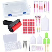 VANCY 2019 Diamond Painting Fantastic Tool Box Set For Diy
