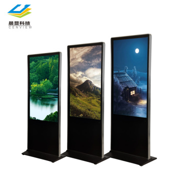 HD video digital signage advertising player, floor standing interactive digital signage display