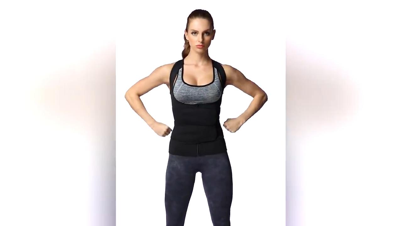 Logotipo personalizado mujeres 2 dos correa de neopreno cintura entrenador cinturón de adelgazamiento