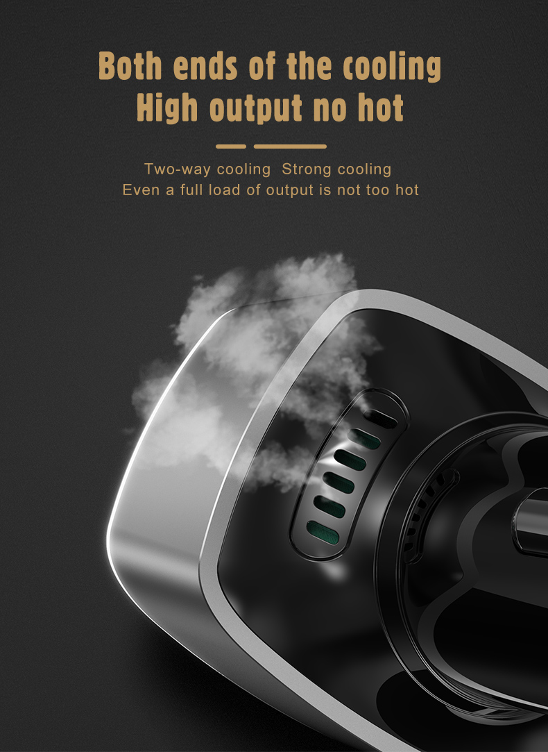 2020 new design dual fast car charger, 83w high power pd car charger