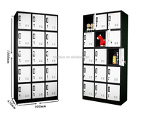 Steel material powder coated mini house rental locker container locker
