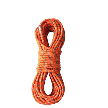With carabiner multi-strand multi color outdoor static rope 8mm climbing
