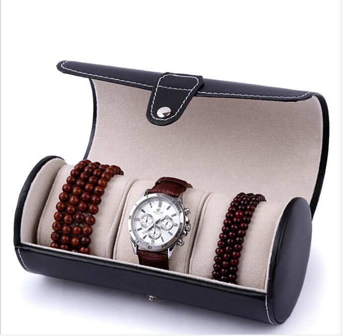 High Gloss 12 Slots Wood Watch Storage Box