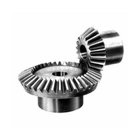 High quality precision harden steel 45 degree straight miter bevel gear for mixer small