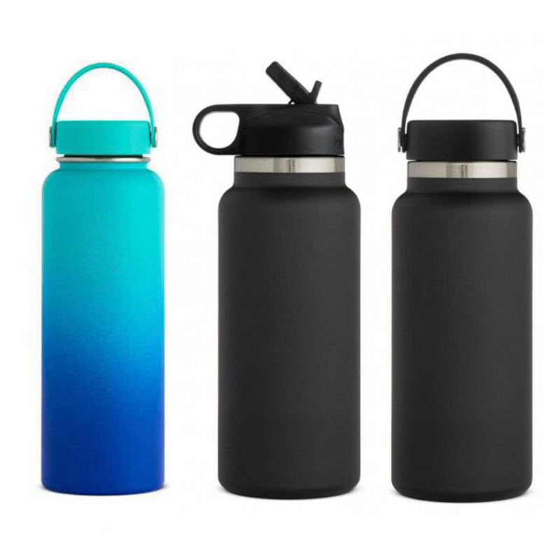 Newest custom 18oz 32oz 40oz hydro double wall vacuum flask insulated stainless steel sport water <strong>bottle</strong> ,<strong>bottle</strong> water