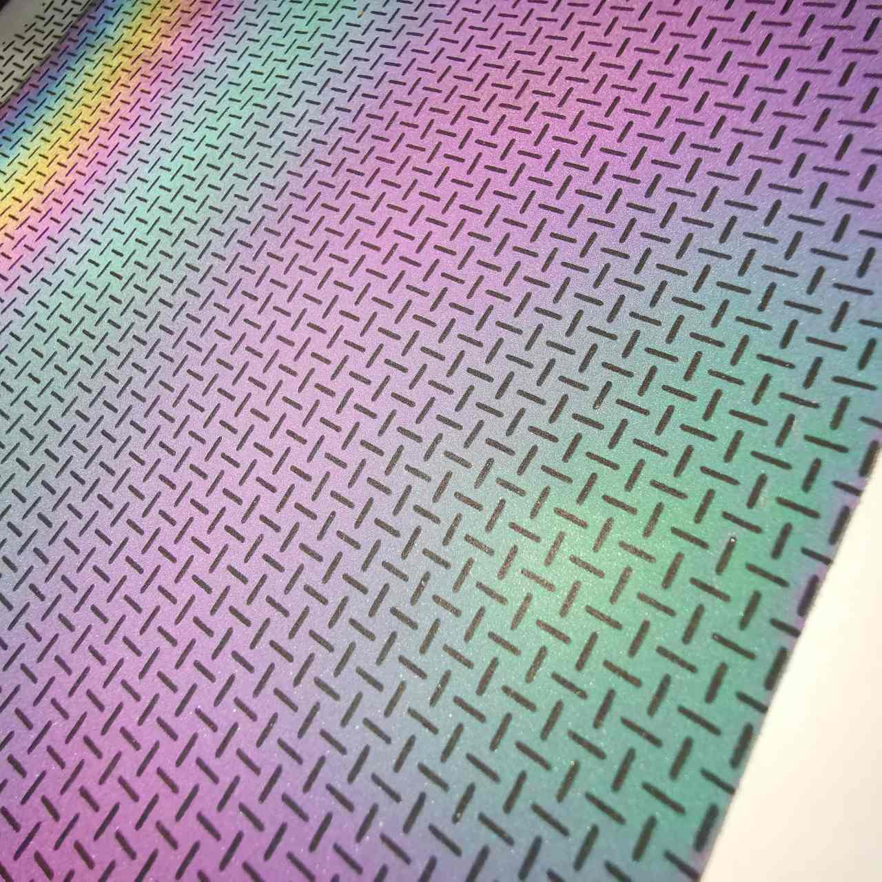 high reflective rainbow fabric cloth for jacket/outdoor