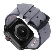 Ремешок из натуральной кожи для Apple Watch 4, 3, 2, 1, 38 мм, 40 мм, кожаный ремешок для iwatch 5, 44, 42 мм, браслет(Китай)