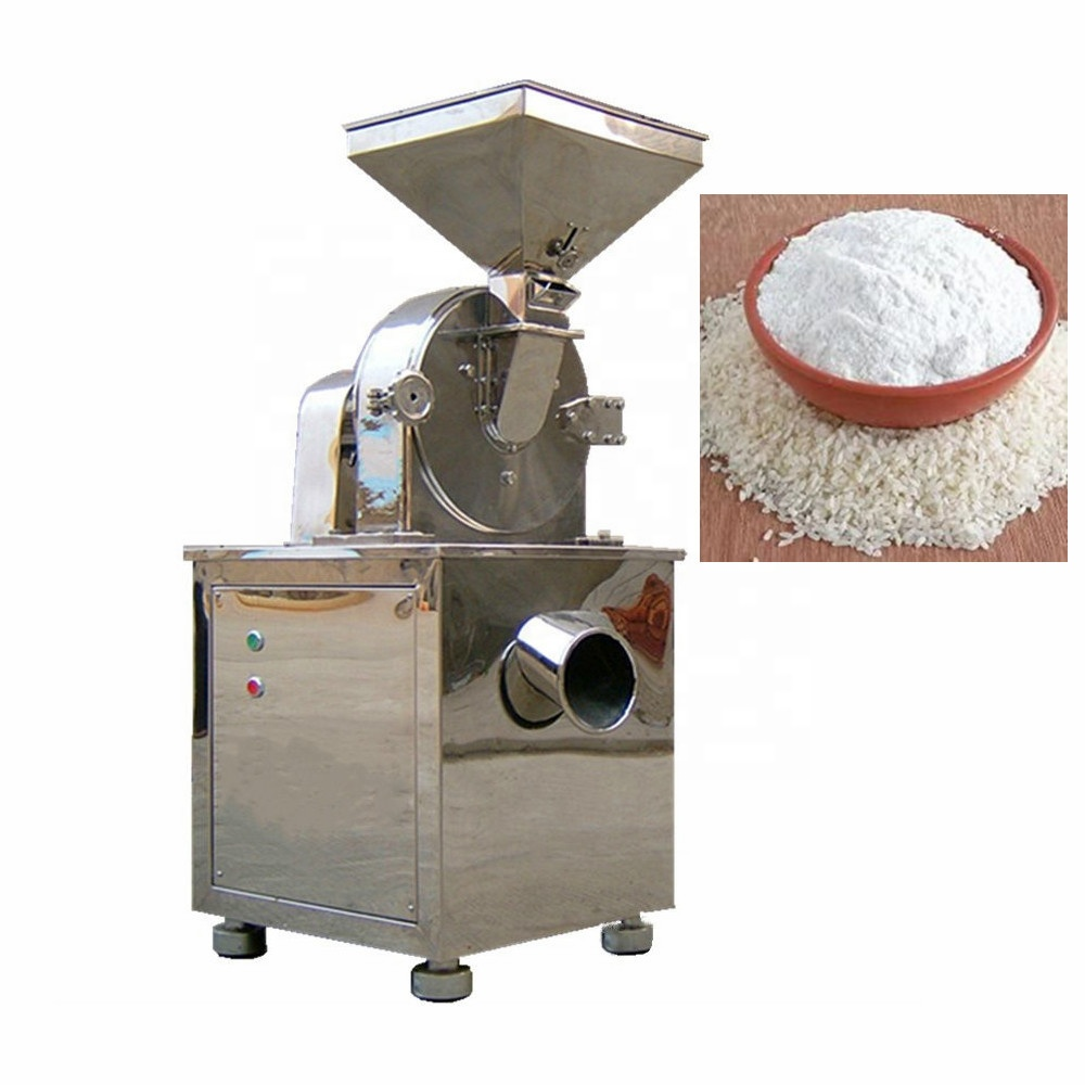 Wanda 304 Stainless Steel Automatic Food Rice Flour Corn Salt Powder Mill Grinding Grinder Machine