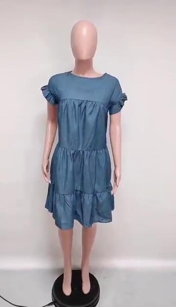 CXMD1005 2 adet MOQ elbiseler kadın bayan zarif kadın giyim elbiseler 2020 kısa kollu bodycon elbise bayan moda giyim