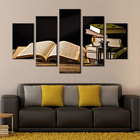 Painting Oil Art Wall Canvas Print Sticker Home Decor Artwork Islamic Living Room Decoration Printed 5 Panel Picture