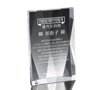 2019 New design good price handmade clear or customized color acrylic awards
