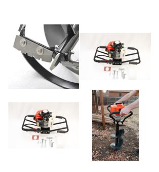 Cortadora rotativa de disco, Tractor
