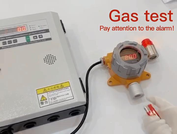 तय डीजल निकास गैस डिटेक्टर Analyzers Nox विश्लेषक दहनशील गैस एकाग्रता का पता लगाने नियंत्रक