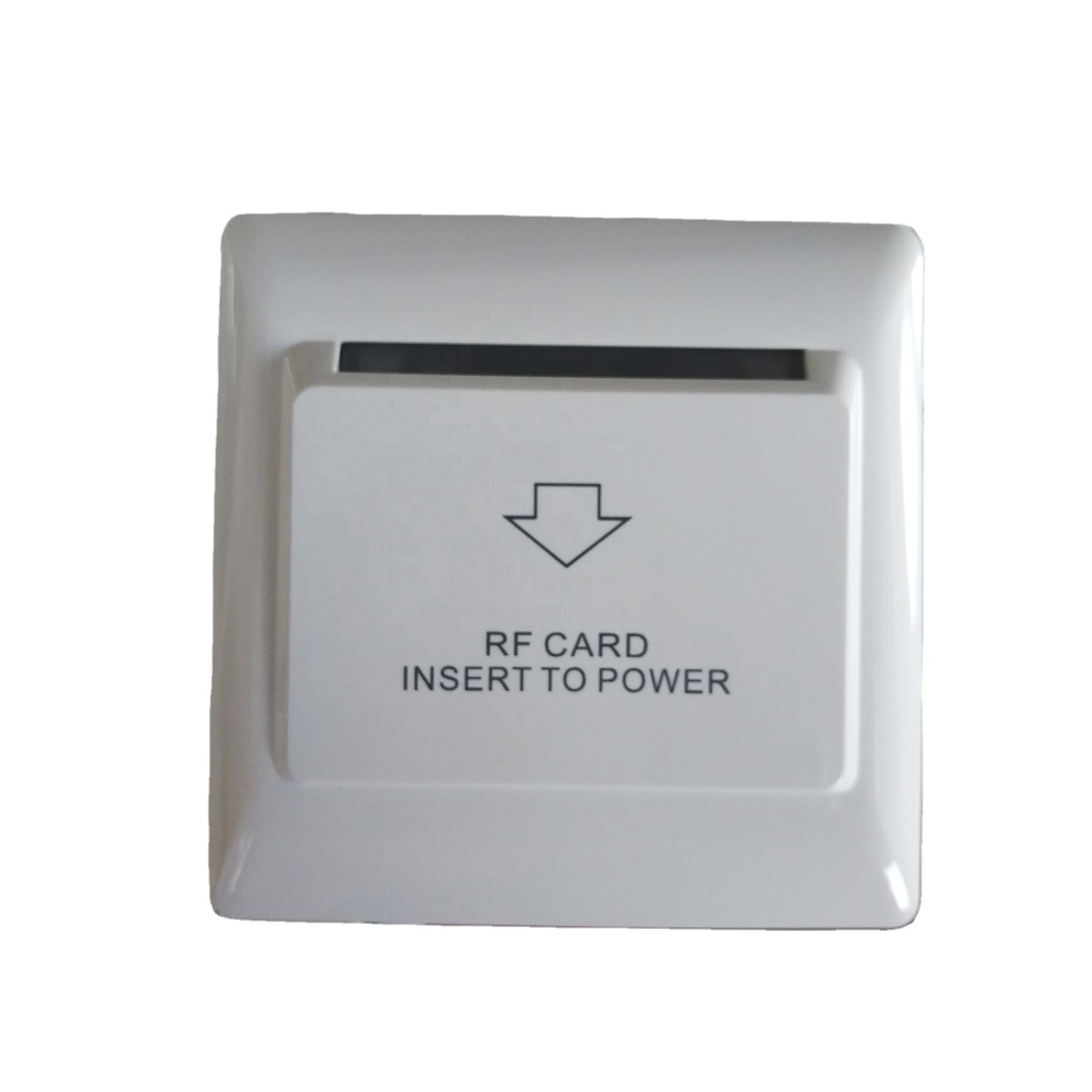 โรงแรม RFID พลาสติกกล่องประหยัดพลังงานไฟฟ้าประหยัดพลังงานการ์ด