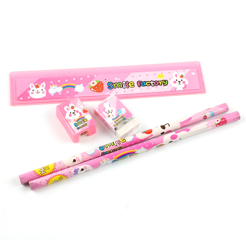 Hot sale high quality stationary set school customer stationery gift set for kids