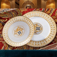 Porcelain dinnerware sets 60 pcs plates sets tableware ceramic dishes set
