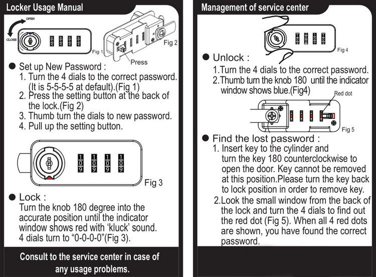 Auto Kembali Nol 4 Digit Password Pintu Lemari Arsip Kotak Safety Kombinasi Kunci