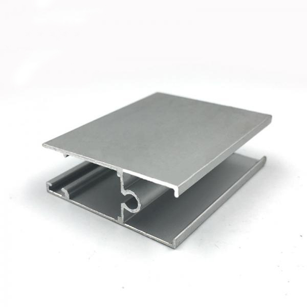 Extruded building material window frame aluminum extrusion profile