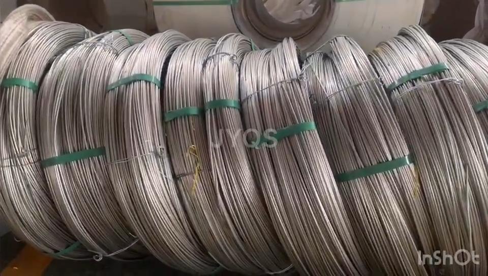 الفولاذ المقاوم للصدأ الباردة سلك الرسم 201 304 316 سس حبل شبكة ملحومة & السياج