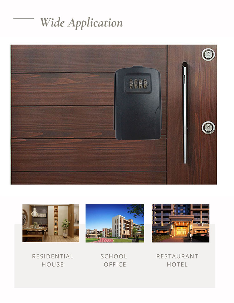 wide application of security key box & key lock box