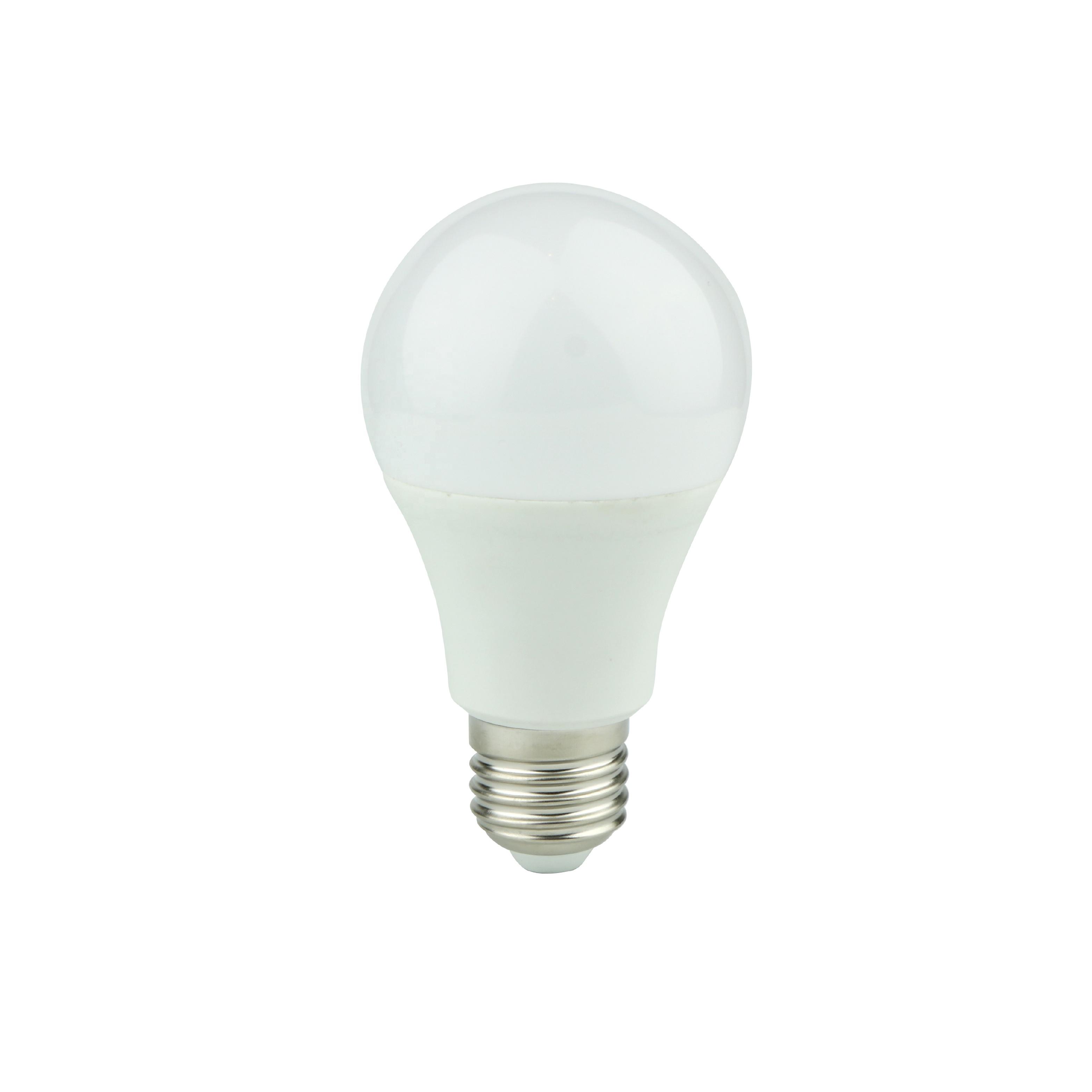 הנורה led E27 A60 12W 10W 15W CE RoHS 1200lm מנורת b22