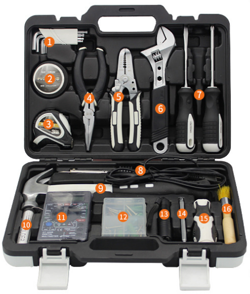 61pcs Hot Sale <strong>Hand</strong> <strong>Tools</strong> <strong>Electric</strong> Soldering Iron <strong>Tools</strong> Wrench Household <strong>Tool</strong> Kits