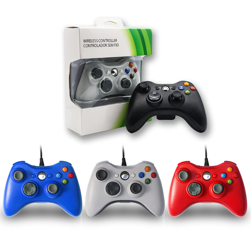 USB Wired Gamepad For Microsofts XBOX360 Console PC Joystick Joypad Gamepads For <strong>XBOX</strong> <strong>360</strong> <strong>Controller</strong>