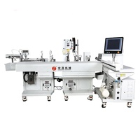 HS-63219 One Wire End Terminals Cutting And Stripping Tinning Machine Auto Terminal Crimping Machine