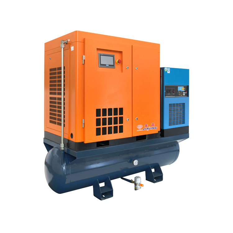 Luchtkoeling 15KW/20Hp Gecombineerd Mini Air Compressor met Tank